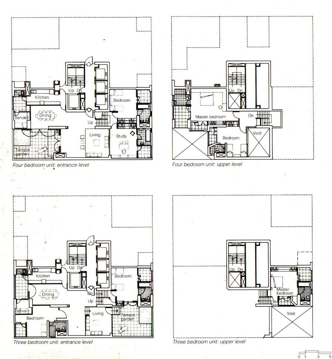 24 unit apartment building plans for Apartment building blueprints