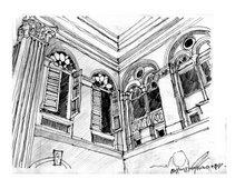 Ruplal House Sketch, Dhaka, Bangladesh