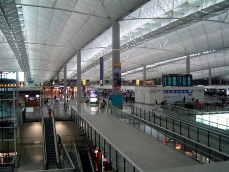Hong Kong Airport, architect norman foster, photography: Mohammad Tauheed