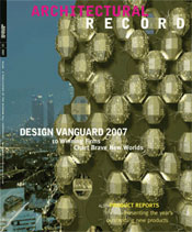 Architectural Record Design Vanguard 2008