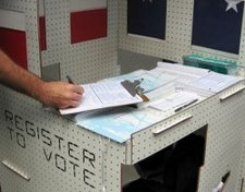 mobile voter registration info center design competition