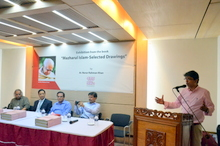 Nurur Rahman Khan presenting