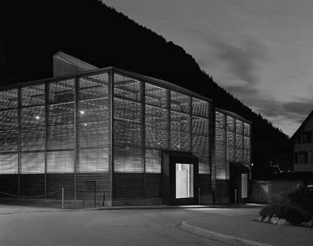 Protective Housing for Roman Excavations Chur, Graubünden, Switzerland, architect peter zumthor