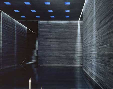 Thermal Bath Vals Graubünden, Switzerland, Architect Peter Zumthor