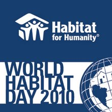 World Habitat Day 2010 logo