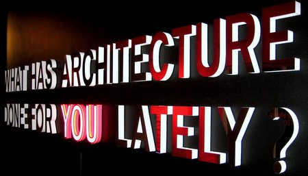 what has architecture done for you lately | ArchiTEXT | Zahra Ebrahim
